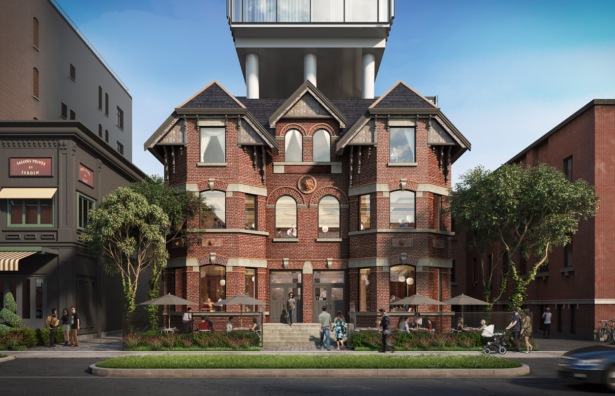 Wellington House First Official Rendering