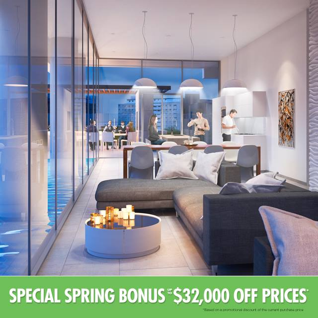 Special Spring Bonus at East 55