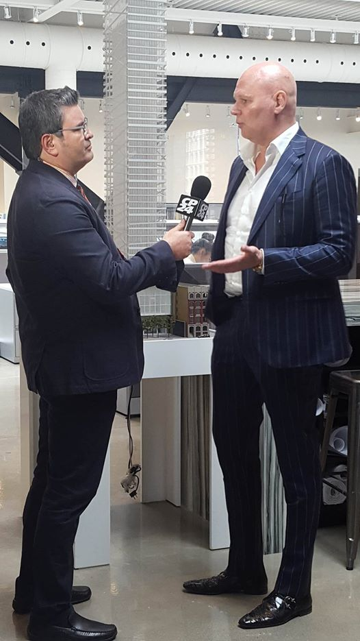 Interview with CP24